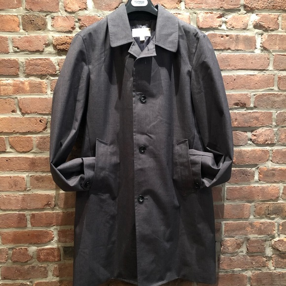 Michael Kors Other - Micheal Kors Mens Trench Coat Charcoal Grey